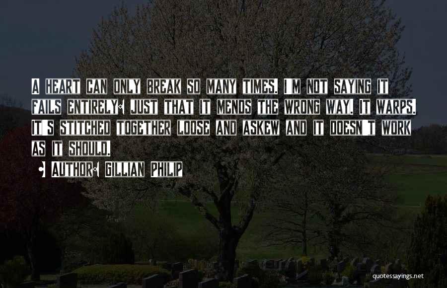 Gillian Philip Quotes 2080907