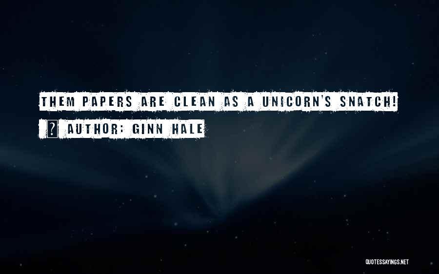Ginn Hale Quotes 1733329