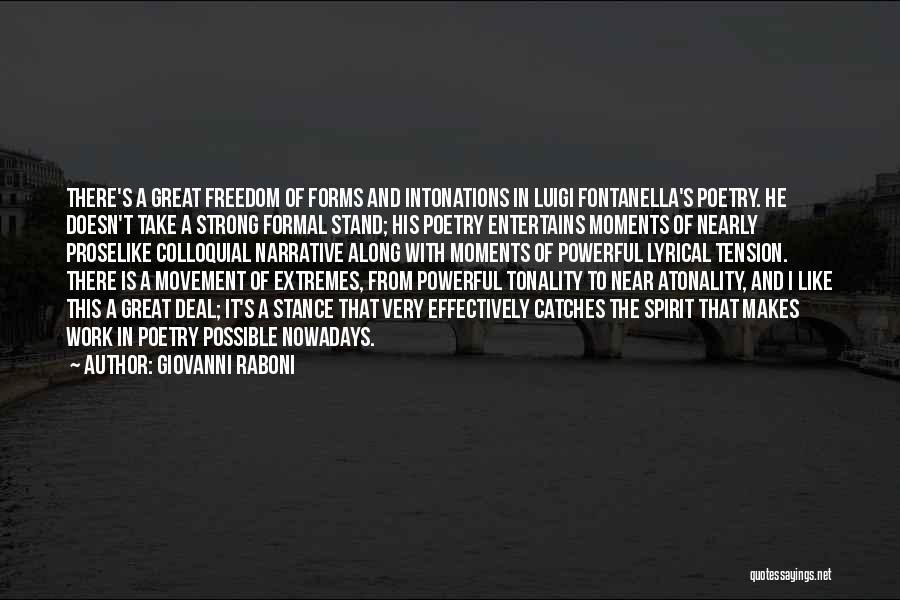 Giovanni Raboni Quotes 2188389