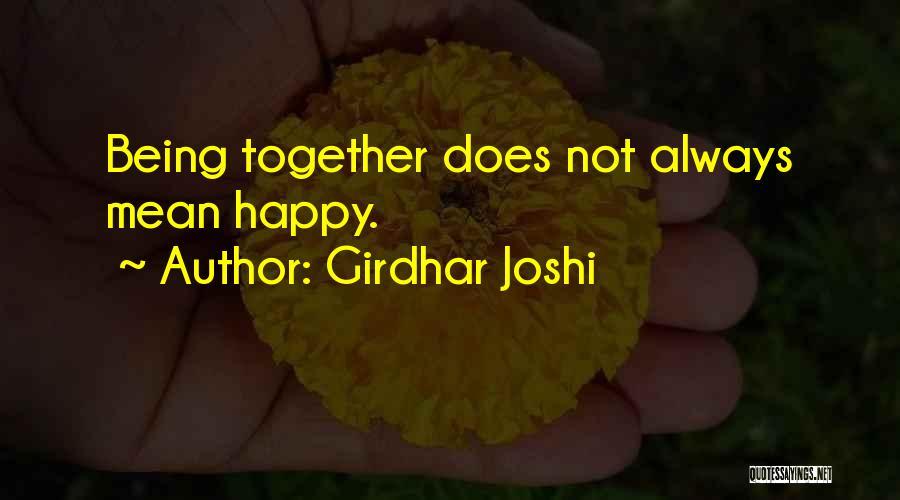 Girdhar Joshi Quotes 1043852