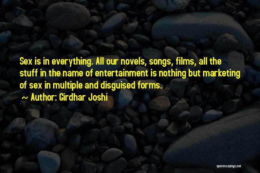 Girdhar Joshi Quotes 107626
