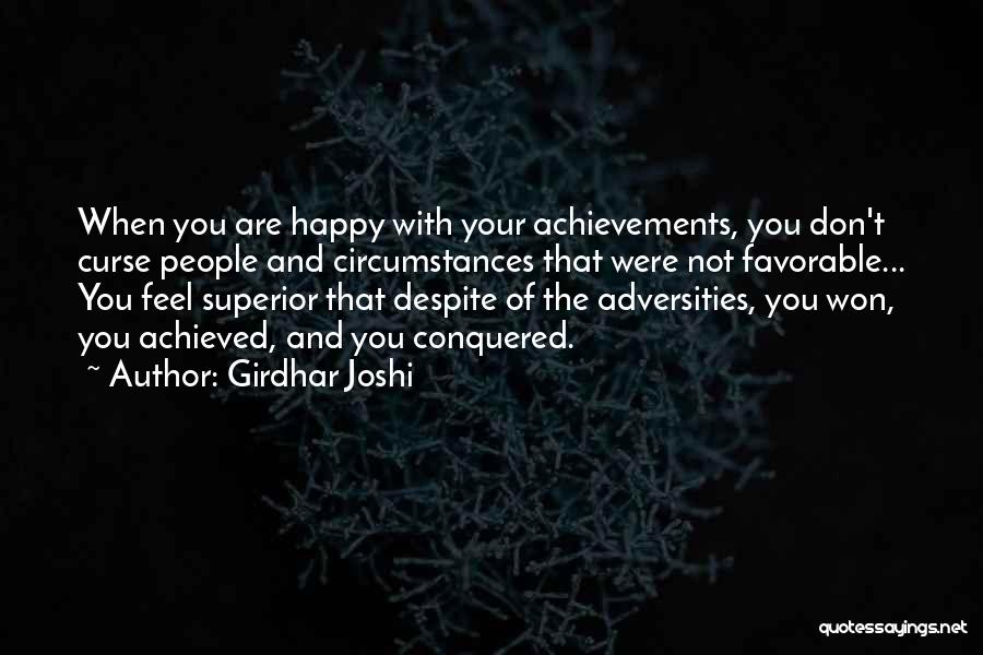 Girdhar Joshi Quotes 1085359