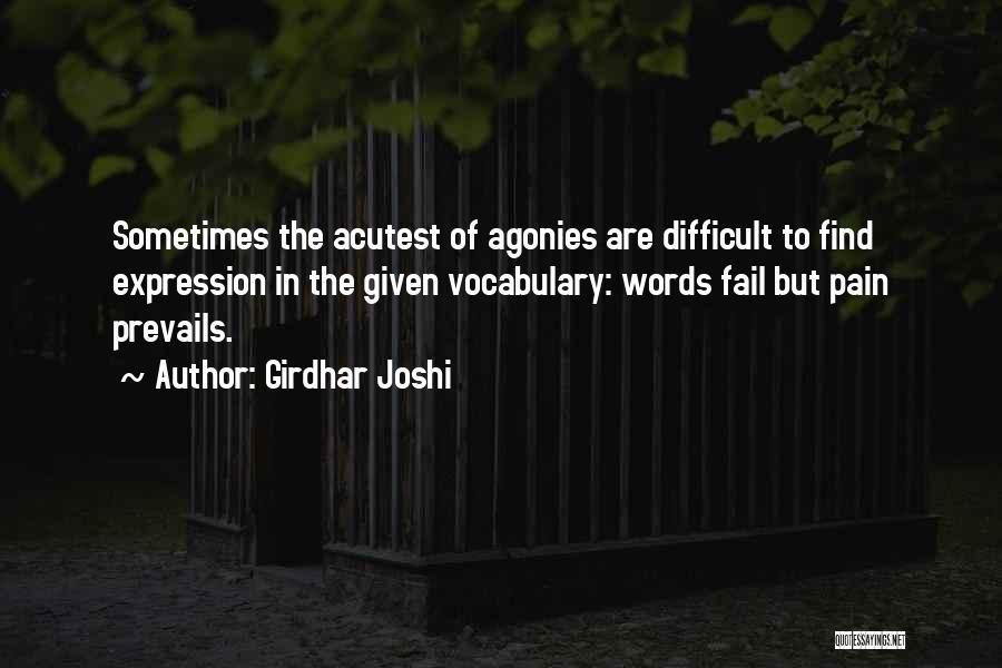 Girdhar Joshi Quotes 1156799