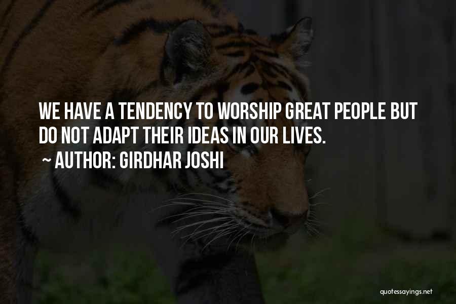 Girdhar Joshi Quotes 1166459