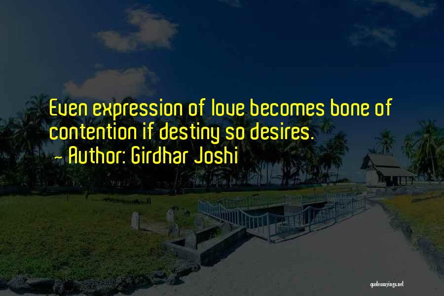 Girdhar Joshi Quotes 1189558
