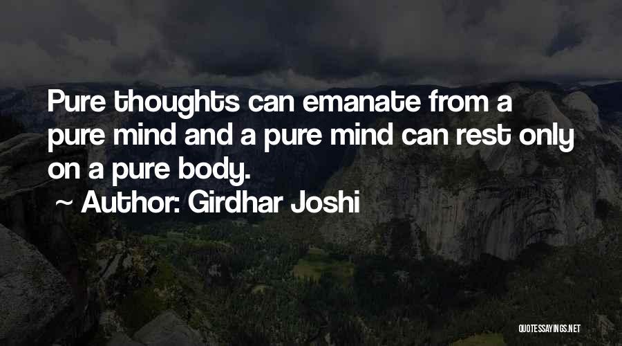 Girdhar Joshi Quotes 1281481