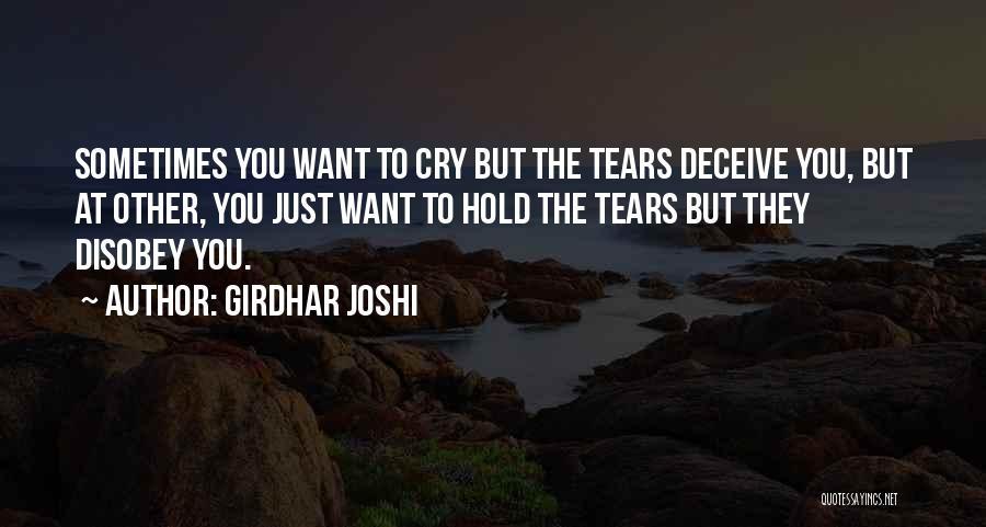 Girdhar Joshi Quotes 1316203