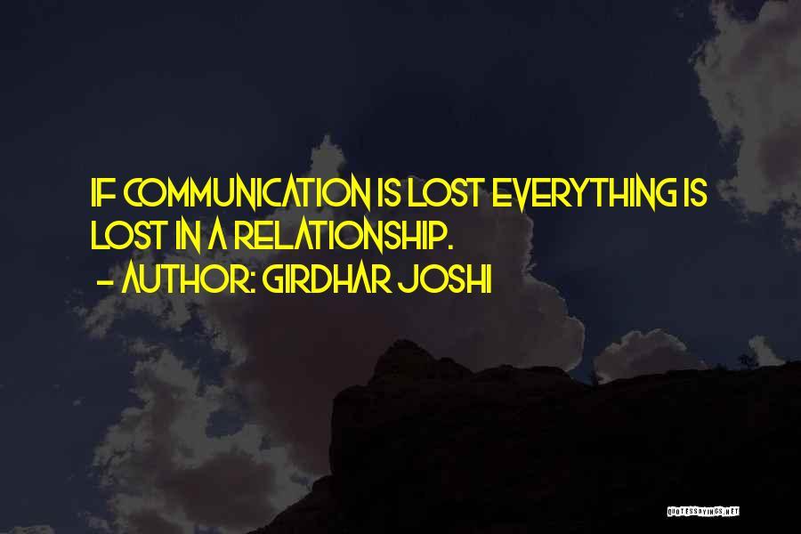 Girdhar Joshi Quotes 1490956