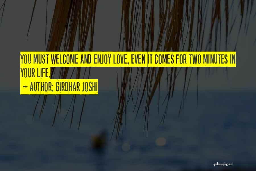 Girdhar Joshi Quotes 1505794