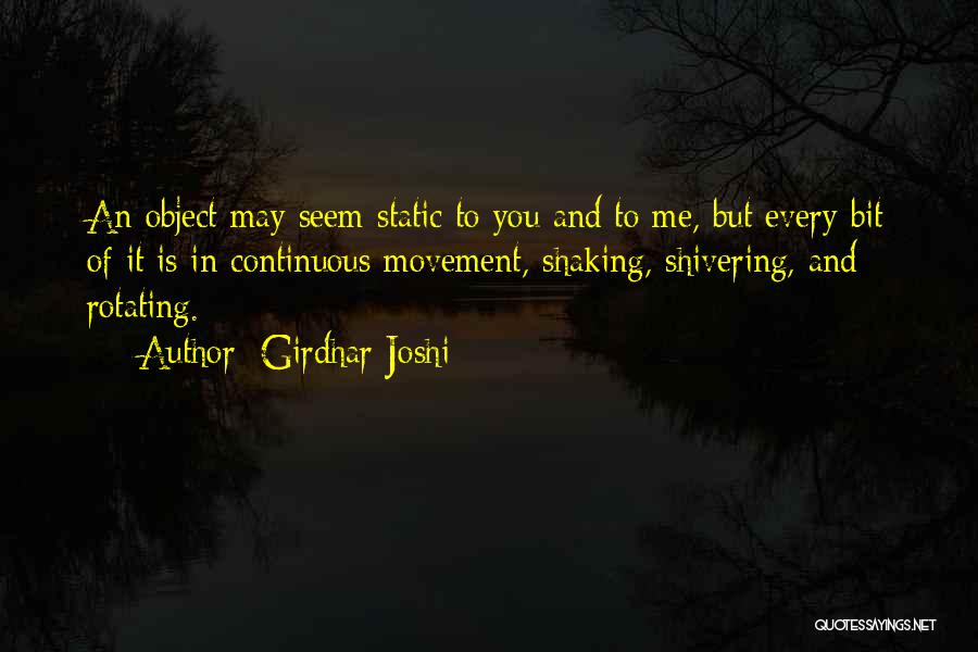 Girdhar Joshi Quotes 1560808