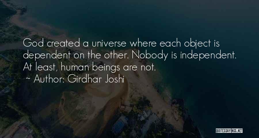 Girdhar Joshi Quotes 1647843