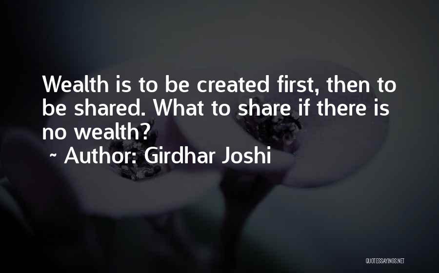 Girdhar Joshi Quotes 170681