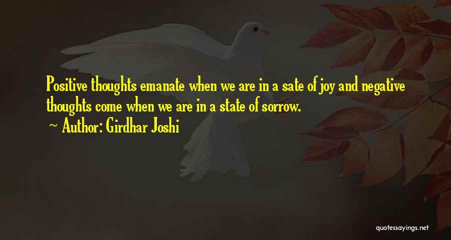 Girdhar Joshi Quotes 186988