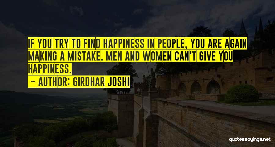 Girdhar Joshi Quotes 2133456