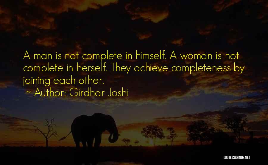 Girdhar Joshi Quotes 2163112