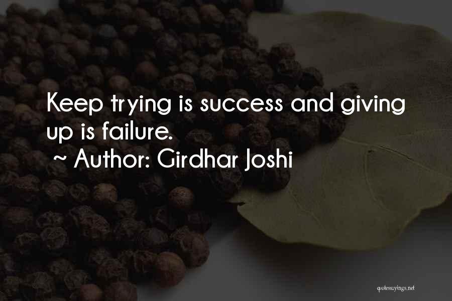Girdhar Joshi Quotes 2260507