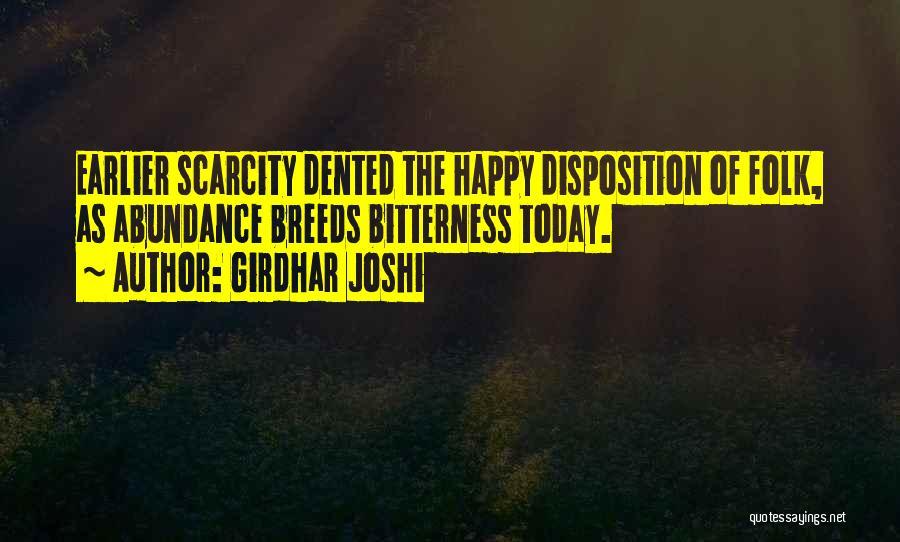 Girdhar Joshi Quotes 290582