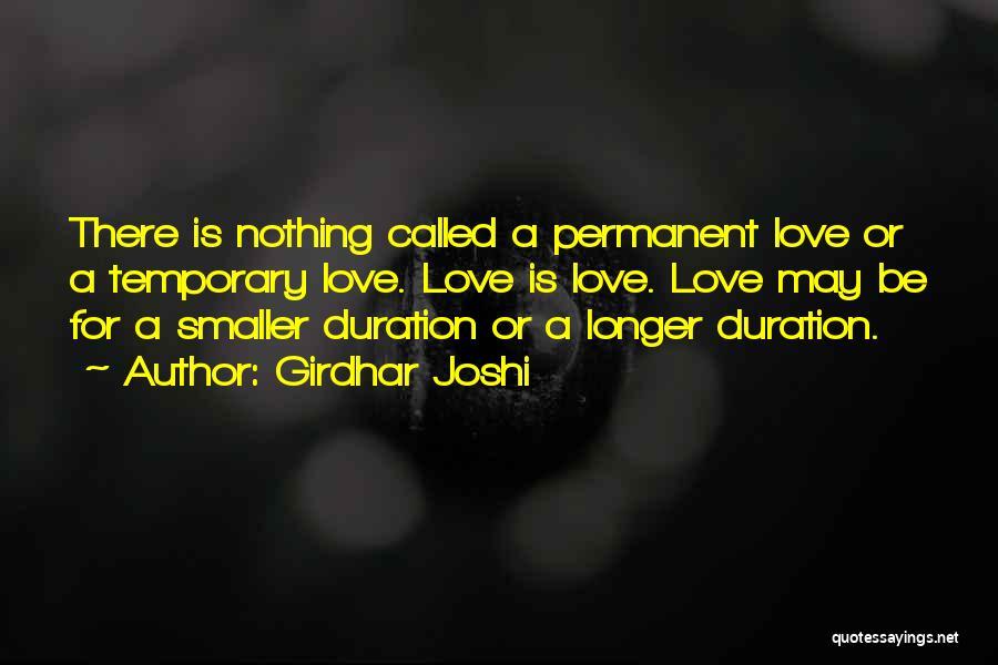 Girdhar Joshi Quotes 546702