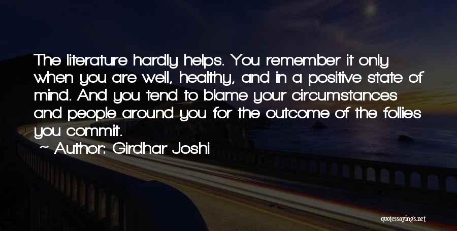 Girdhar Joshi Quotes 632871