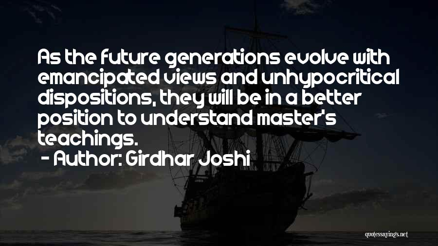 Girdhar Joshi Quotes 660013