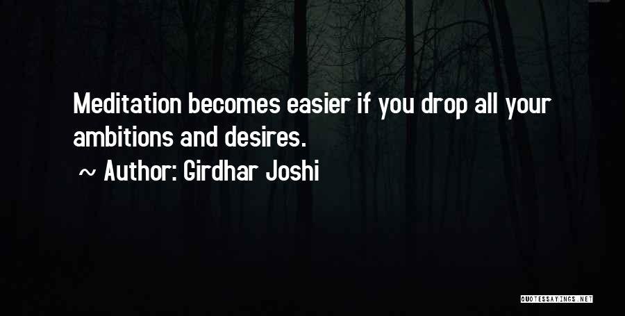 Girdhar Joshi Quotes 681841