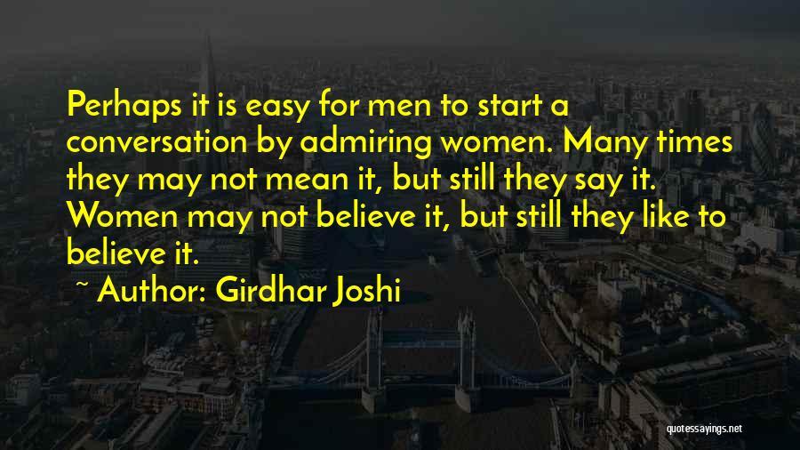 Girdhar Joshi Quotes 737958