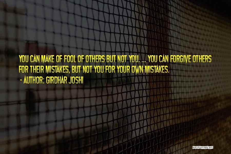 Girdhar Joshi Quotes 833452