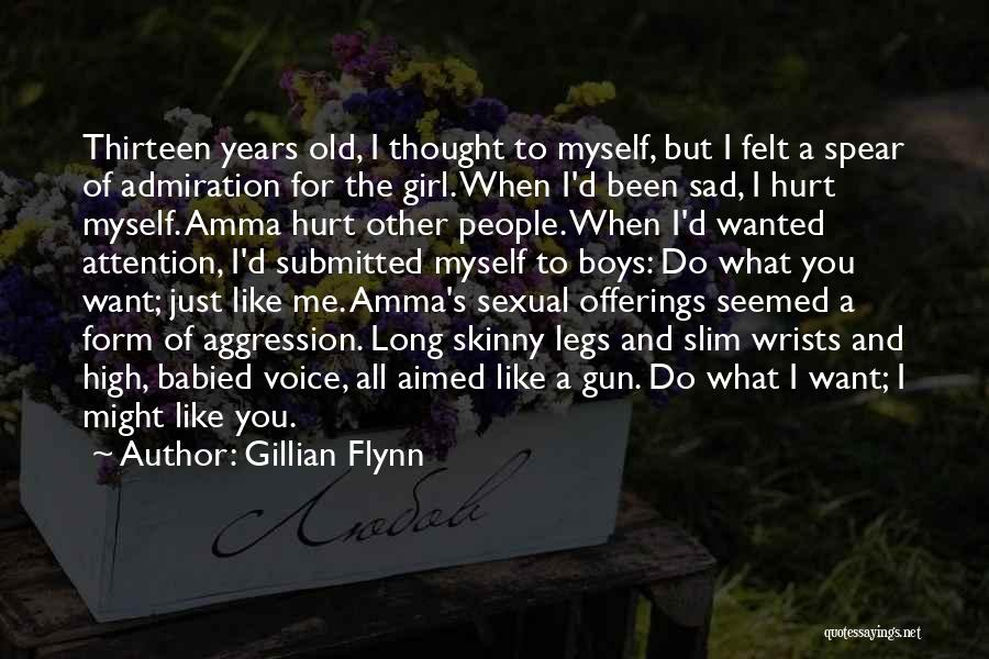 Girl And Gun Quotes By Gillian Flynn