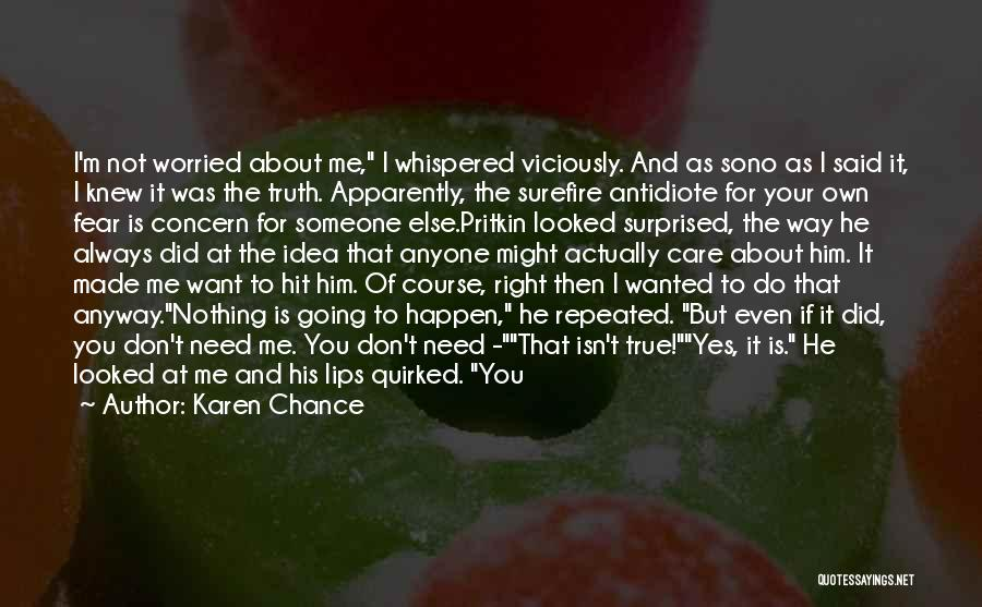 Girl And Gun Quotes By Karen Chance