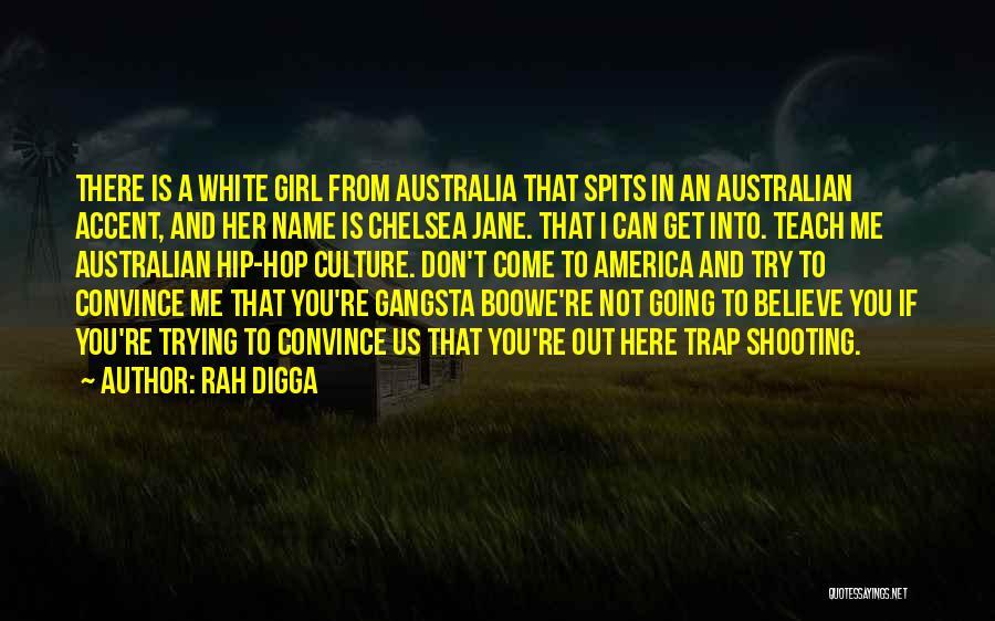 Girl Gangsta Quotes By Rah Digga