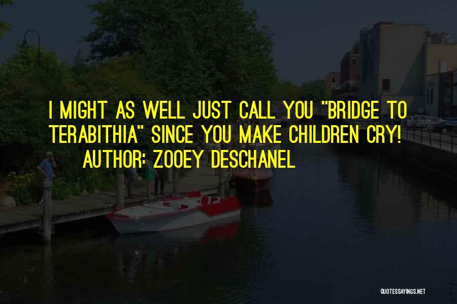 Girl On The Bridge Quotes By Zooey Deschanel