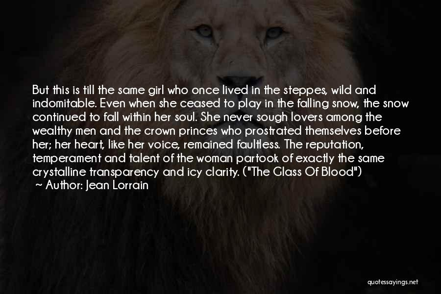 Girl Soul Quotes By Jean Lorrain