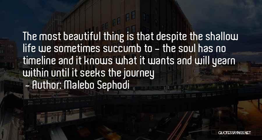 Girl Soul Quotes By Malebo Sephodi