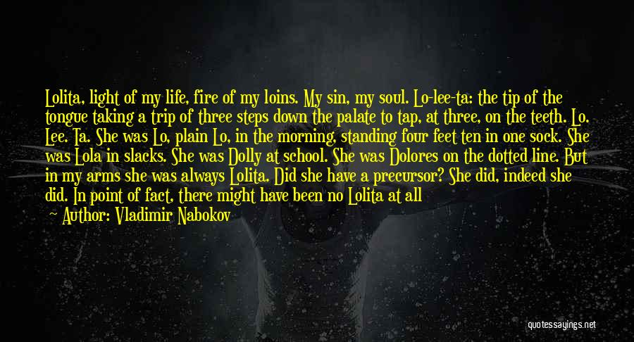 Girl Soul Quotes By Vladimir Nabokov