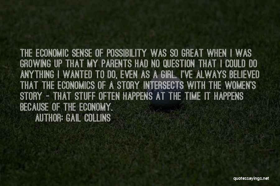 Girl Stuff Quotes By Gail Collins