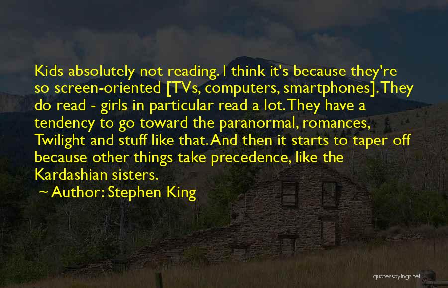 Girl Stuff Quotes By Stephen King
