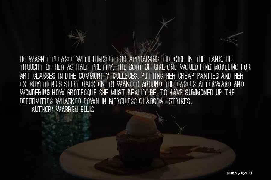 Girl That Wants Your Boyfriend Quotes By Warren Ellis