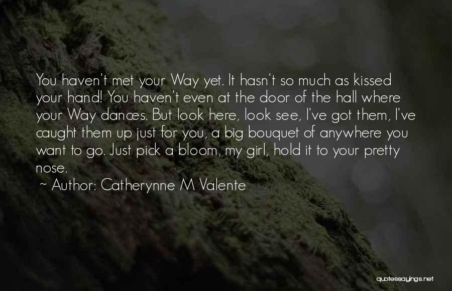 Girl You Just Met Quotes By Catherynne M Valente