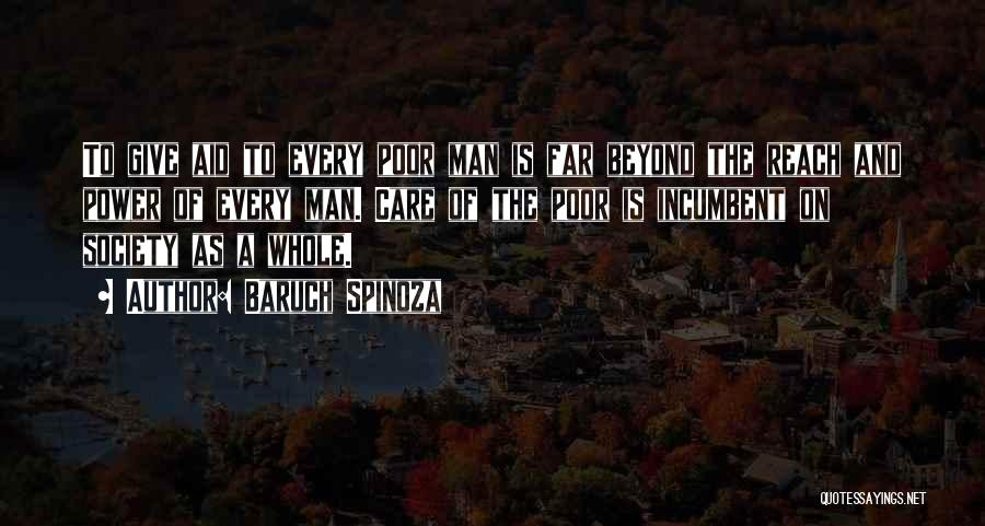 Give A Man Power Quotes By Baruch Spinoza