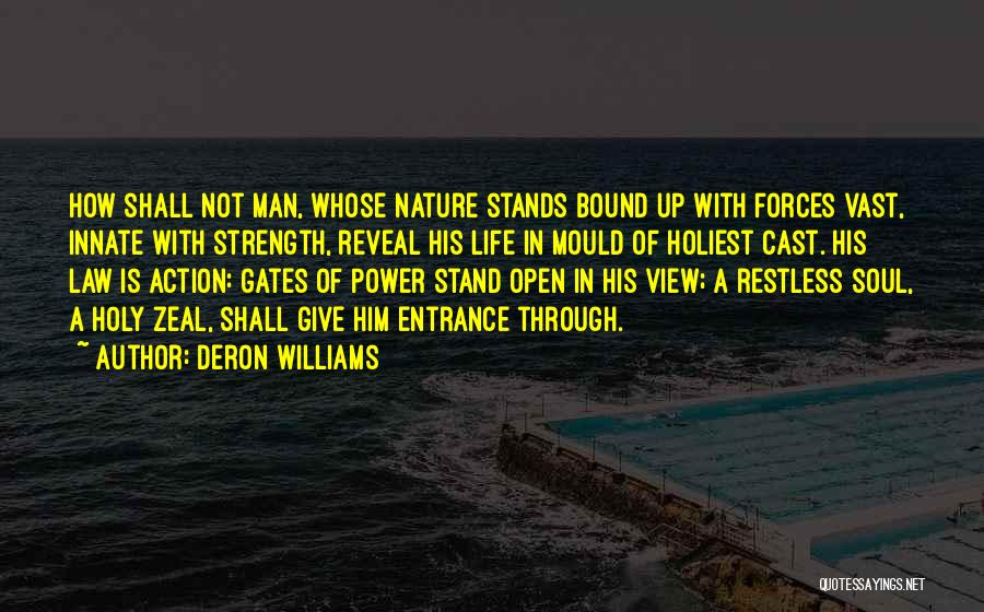 Give A Man Power Quotes By Deron Williams