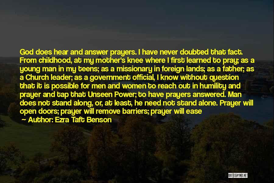 Give A Man Power Quotes By Ezra Taft Benson