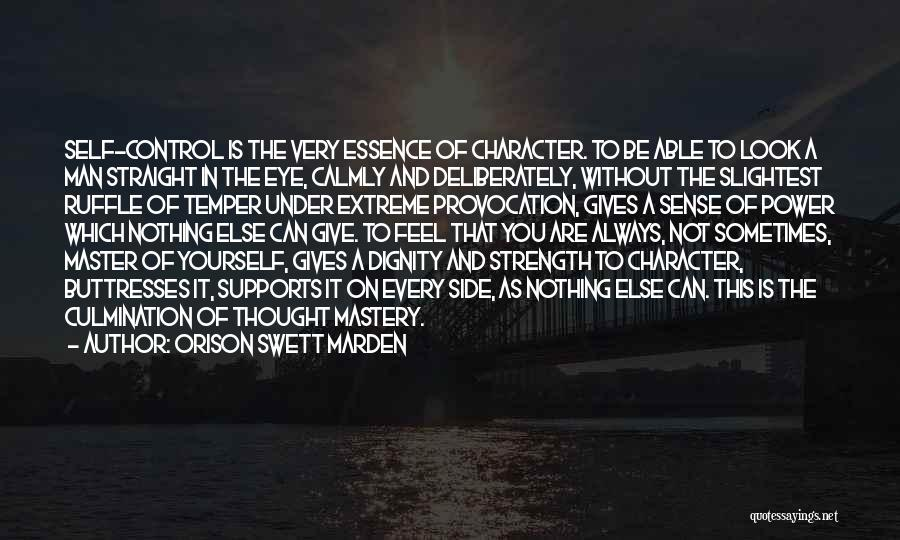 Give A Man Power Quotes By Orison Swett Marden