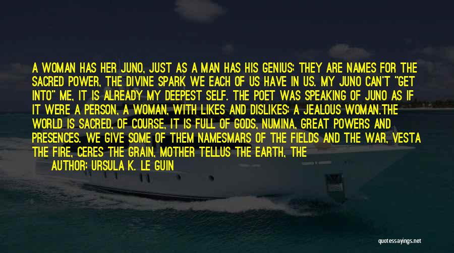 Give A Man Power Quotes By Ursula K. Le Guin