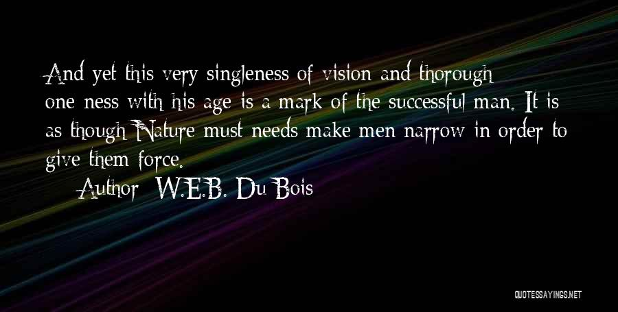 Give A Man Power Quotes By W.E.B. Du Bois