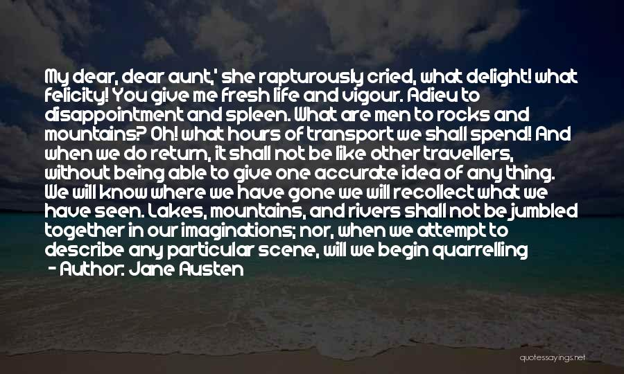 Give In Return Quotes By Jane Austen