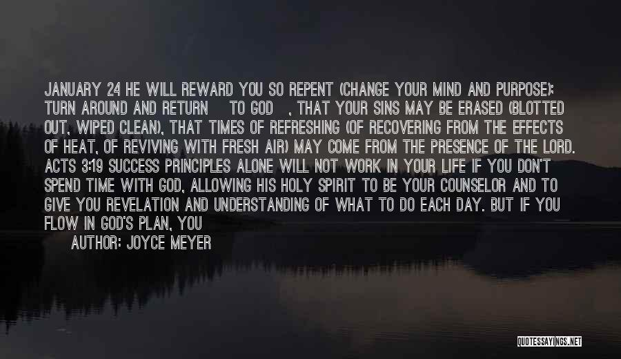 Give In Return Quotes By Joyce Meyer