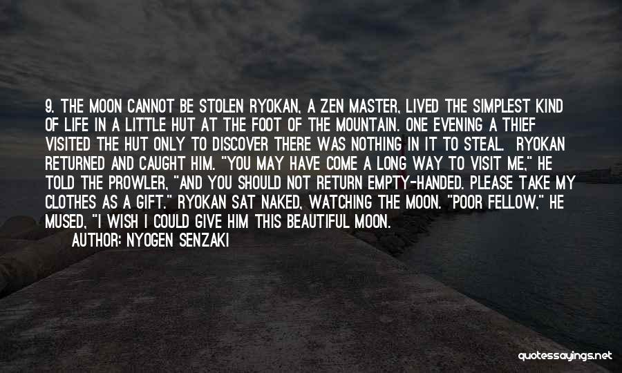 Give In Return Quotes By Nyogen Senzaki