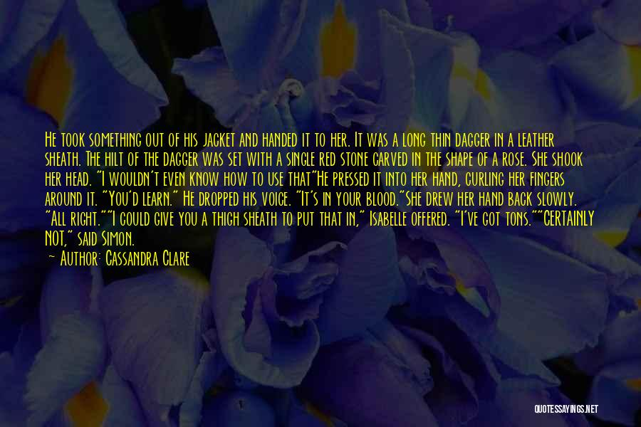 Give It All You Got Quotes By Cassandra Clare
