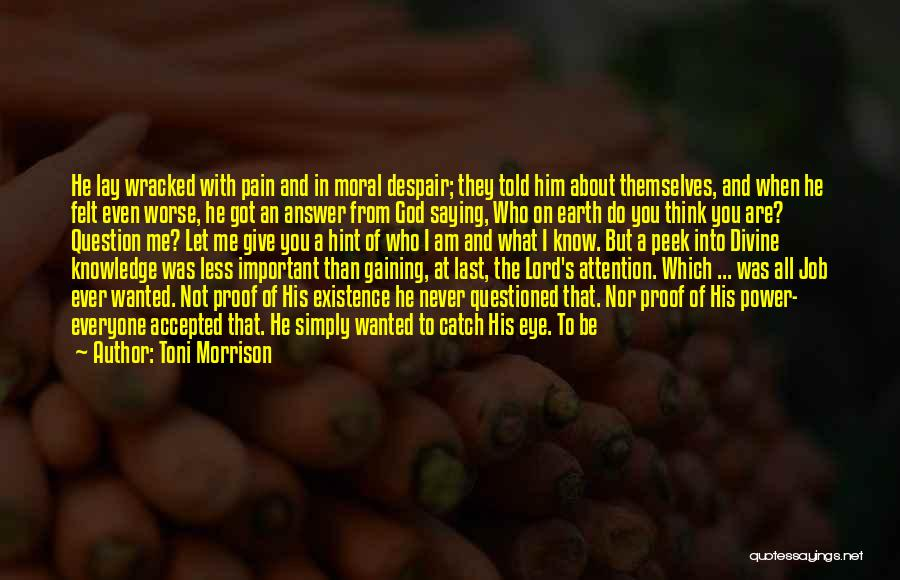 Give It All You Got Quotes By Toni Morrison