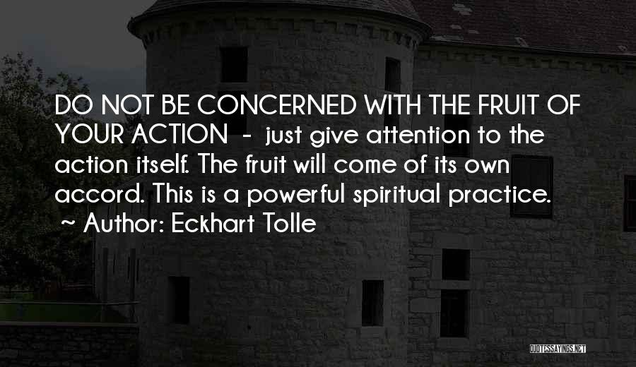 Give Me All Your Attention Quotes By Eckhart Tolle